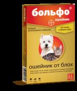 Bolfo Ошейник от блох для кошек и мелких собак, 35 см./ 65 см.