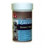 8 in 1 Excel Brewers Yeast with Garlic комплекс с пивными дрожжами и чесноком, 140 таб./ 260 таб.