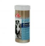 8 in 1 Excel Brewers Yeast для крупных собак с пивными дрожжами и чесноком, 80 таб.