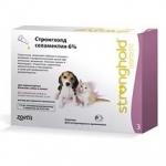Stronghold 15 мг капли против блох для щенков и котят, 1 пипетка
