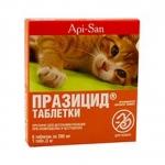 ПРАЗИЦИД для кошек, 6 таб.