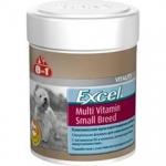 8 in 1 Excel Multi Vitamin мультивитамины для собак мелких пород, 70 таб.